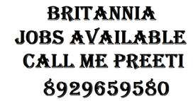Urgent Requirement For BritanniaCompany.  Role:-Helper/supervisor/stor