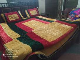 Bridal Handmade Bed sheet