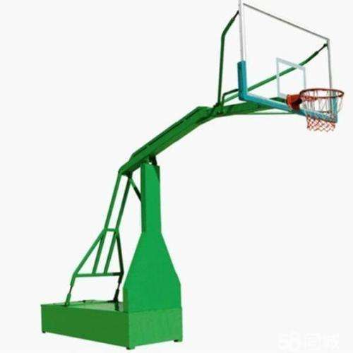 Basketball Moveable pole blue and Green 0