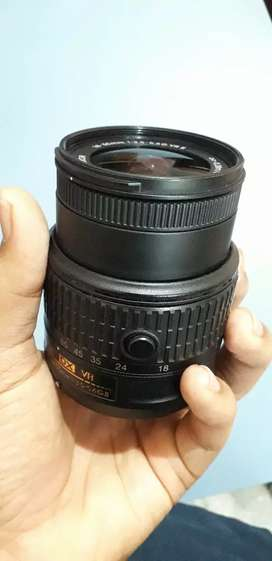 Damaged camera lens