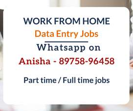 Start working from today. Earn daily Rs.1000/-. Work from home jobs.