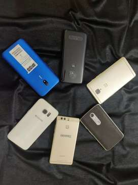 Redmi 8A one plus 3T Huawei P9 Moto X force S7 edge Moto G6plus