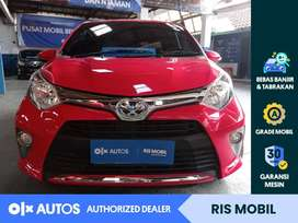 [OLX Autos] Toyota Cayla 2017 G 1.2 Bensin M/T Merah #RIS Mobil