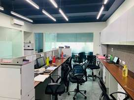 Furnished office available for rent in mahape near ghansoli station.