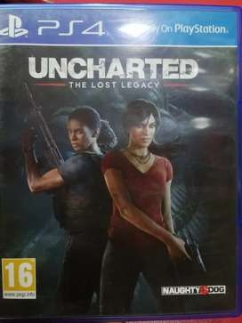 Ps4 game uncharted The Lost Legacy used available