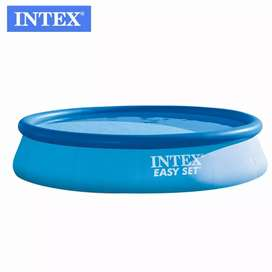 Intex 28130 (size:12ft/30inc) above ground easyset swimming pool.