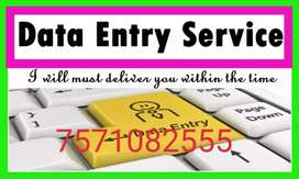 Genuine online data entry  from home