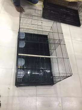 Birds cage and accessories