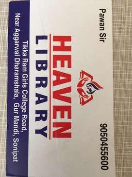 Heaven library sonipat