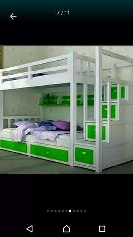 Tempat tidur susun berkualitas.
