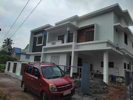 6.75 cent land with new 4 bhk House for sale Angamaly Kidangoor