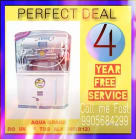 Water Purifier With RO+UV+UF+TDS Control And 5 (1+4) Years Warranty