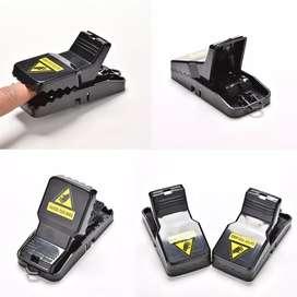 Jebakan Perangkap Tikus Black Cat Mouse Trap 2 PCS - JB56 - Black iw1