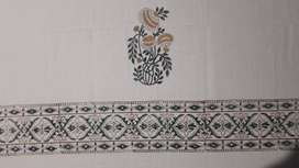 Cotton Waffle Towels - Hand block printed