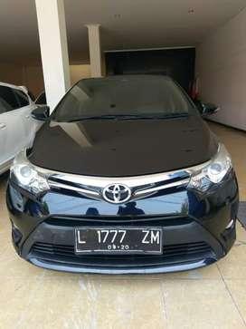 Toyota Vios G 2015 manual Hitam siap pakai
