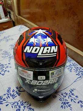 Nolan X-802RR Ultra Carbon Casey Stoner Replica Helmet - Medium