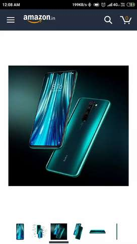 Redmi Note 8 pro gamma green 6-128 GB seal pack