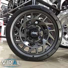 Velg Racing Ring 17 Lubang 6 Pelak Mobil Mitsubishi Pajero Pelek Hsr