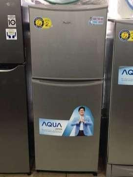 Kulkas 2 Pintu Aqua Japan / Sanyo AQR-D240(s) - Garansi Comp. 7 Tahun