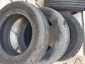 Used tubeless tyres