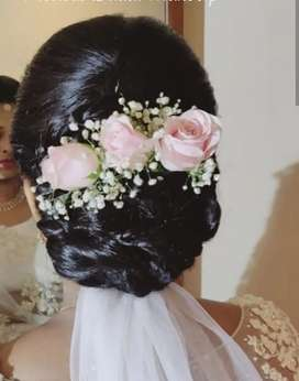 Bridal HD Makeup with- Advanced hairstyles in budget Hurry up