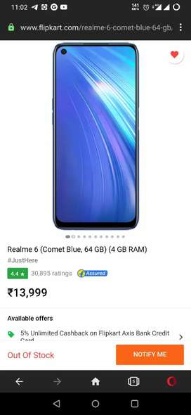 Realme 6, sealed pack available