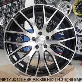 dijuall NIFTY JD123 HSR R20X85 H5X114,3 ET45 BMF