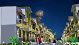 Independent House in gated society, premium location only @29 lacs