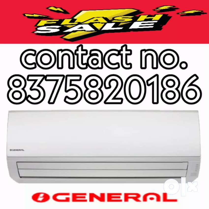 Box pack o general split ac 1.5 tonnage 5 star rating in 29999/- 0
