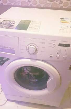 LG washing machine invert 7kg bought from kuwait