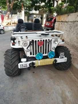 Modified open Jeep Gypsy Thar