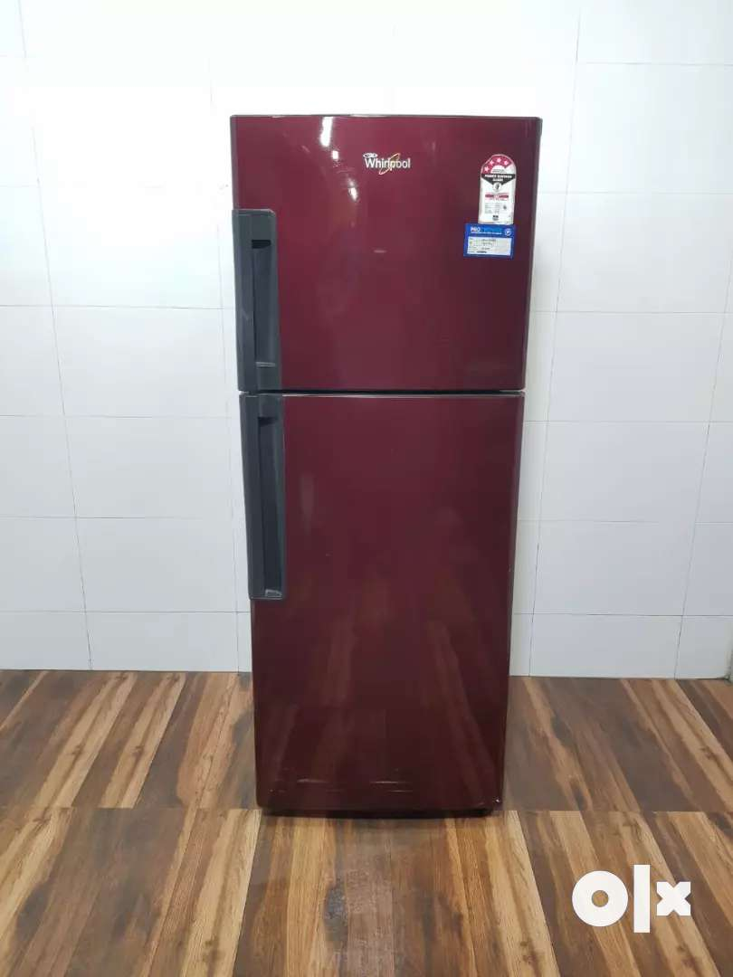 Whirlpool maroon d/d refrigerator for sale best price 0