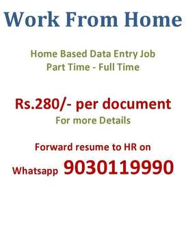 Data entry projects, work from home based, whatsapp to us for projects