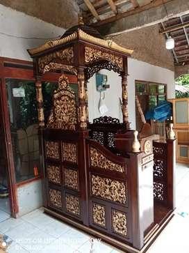 Mimbar masjid kutbah