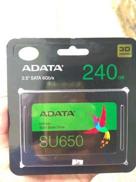 SSD Adata SU650 Sata III 240GB