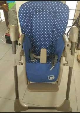 Kursi makan high atau baby chair babydoes roda empat bagus murah