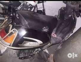 Ok hai good condition new battery exchange any bike