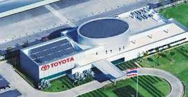 Apply for all posts in Toyota Motors Pvt Ltd