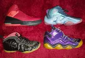 Borongan Sepatu basket air jordan Adidas nike