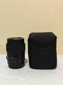 Di jual lensa Sigma 35mm for Canon f 1.4 DG HSM Art Lens