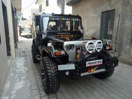 Bolero hard top willys look jeep fully loaded