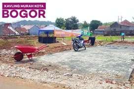 Dijual tanah murah siap bangun di kota Bogor hanya 2 juta/m2