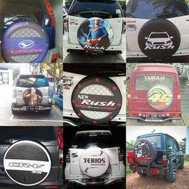 tutup/Cover/Sarung Ban serep aneka Terios Rush Jeep Vitara Escudo TOUR