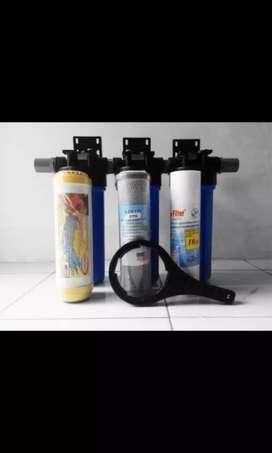 Filter air satu set tinggal pasang