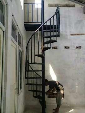 tangga putar 'kb'