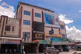 Ruko 4 unit, 5 lantai di jl Telaga Biru Tembilahan Hulu