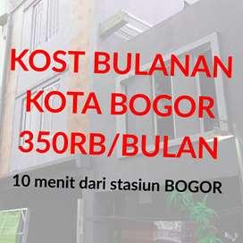 Kost bulanan murah kos Kota Bogor dekat stasiun bogor