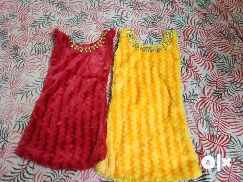 Party wear 1 to 3 year baby girls froack and good quality. 0