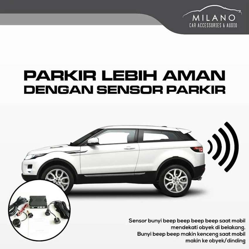 Parking Sensor, Sensor Parkir Mobil 4T 4 Titik Lengkap Include Pasang 0