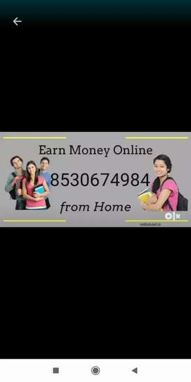 Need candidates who can spent 2-3 hrs on internet from home
